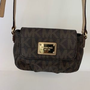 Michael Kors Small Brown Crossbody
